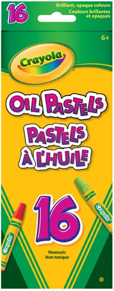 CRAYOLA OIL PASTELS 16 COUNT