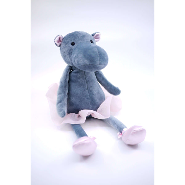 JELLYCAT DANCING DARCEY HIPPO STUFFY, TOYS, Styles For Home Garden & Living, Styles For Home Garden and Living
