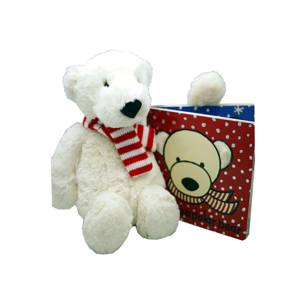 JELLYCAT PAX POLAR BEAR MEDIUM, TOYS, Styles For Home Garden & Living, Styles For Home Garden & Living