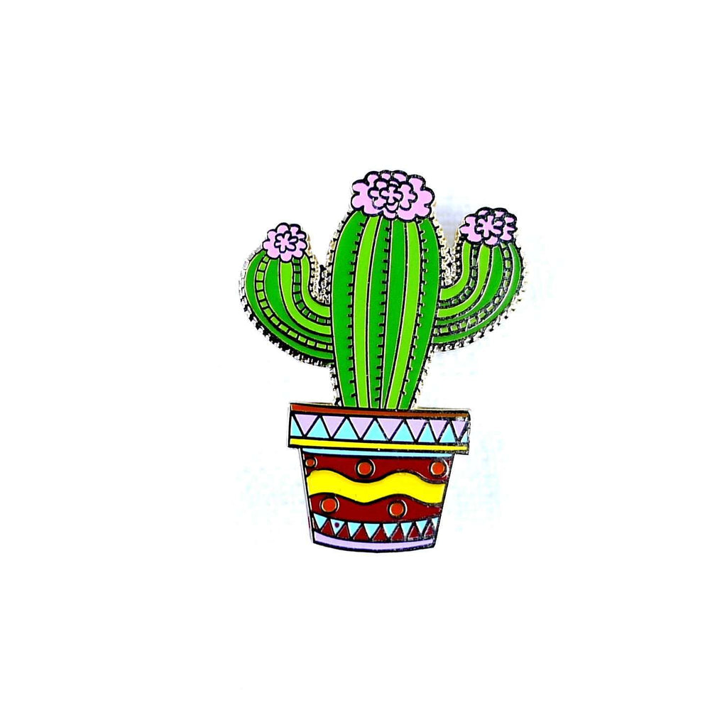 ENAMEL PIN CACTUS, ACCESSORIES, Styles For Home Garden & Living, Styles For Home Garden & Living