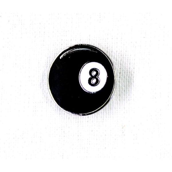 ENAMEL PIN 8BALL, ACCESSORIES, Styles For Home Garden & Living, Styles For Home Garden & Living