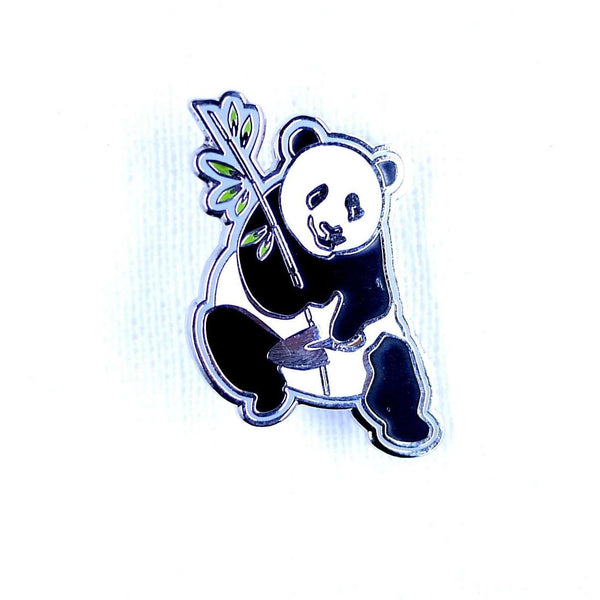 ENAMEL PIN PANDA, ACCESSORIES, Styles For Home Garden & Living, Styles For Home Garden and Living