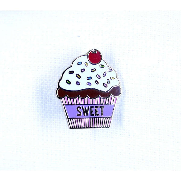 ENAMEL PIN CUPCAKE, ACCESSORIES, Styles For Home Garden & Living, Styles For Home Garden and Living