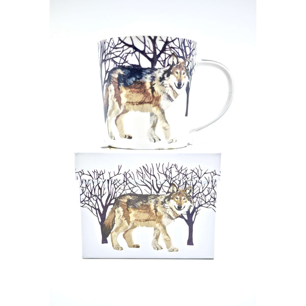 PPD MUG IN GIFT BOX WINTER WOLF, KITCHEN, Styles For Home Garden & Living, Styles For Home Garden & Living