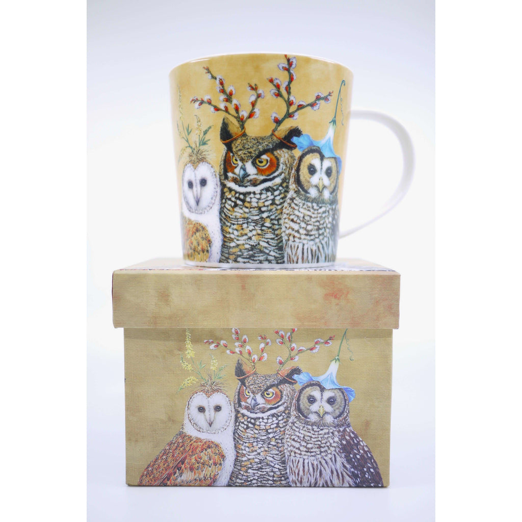 PPD MUG IN GIFT BOX OWL FAMILY, KITCHEN, Styles For Home Garden & Living, Styles For Home Garden & Living