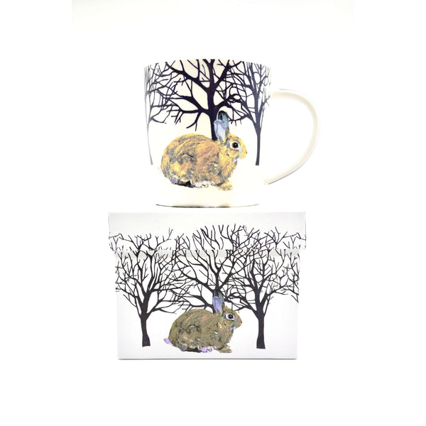 PPD MUG IN GIFT BOX WINTER RABBIT, KITCHEN, Styles For Home Garden & Living, Styles For Home Garden & Living