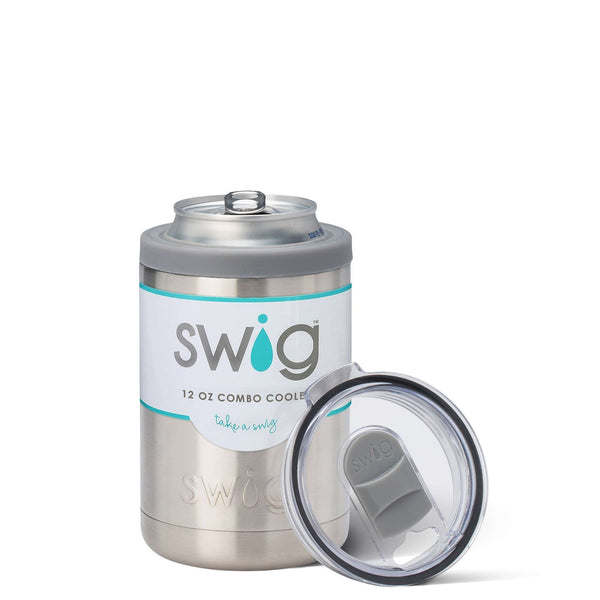 SWIG 12OZ COMBO COOLER STAINLESS STEEL, KITCHEN, Styles For Home Garden & Living, Styles For Home Garden & Living