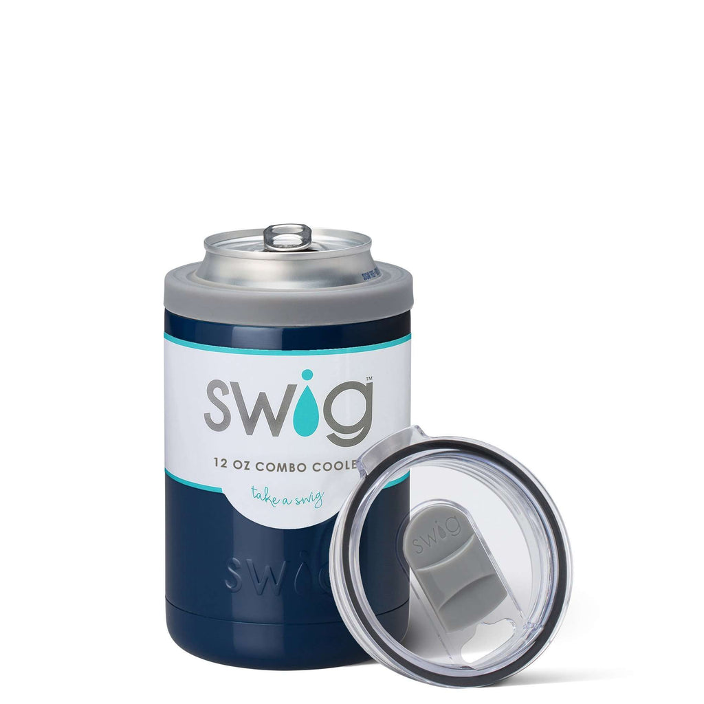SWIG 12OZ COMBO COOLER NAVY, KITCHEN, Styles For Home Garden & Living, Styles For Home Garden & Living