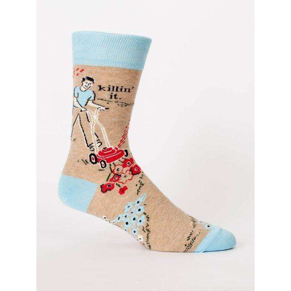 BLUE Q KILLIN IT MENS SOCK, CLOTHING, Styles For Home Garden & Living, Styles For Home Garden and Living