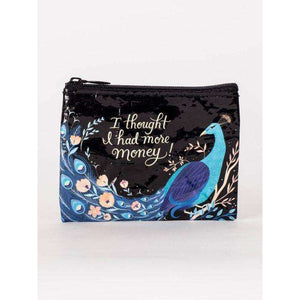 BLUE Q 'I THOUGHT I HAD MORE MONEY' COIN PURSE, ACCESSORIES, Styles For Home Garden & Living, Styles For Home Garden & Living