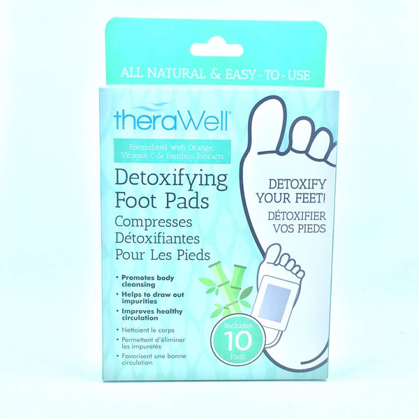 THERAWELL DETOXIFYING FOOT PADS, HEALTH AND BEAUTY, Styles For Home Garden & Living, Styles For Home Garden and Living