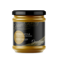 GRAVELBOURG MUSTARD GERMAN STYLE, FOOD, Styles For Home Garden & Living, Styles For Home Garden and Living