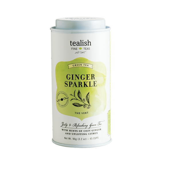 TEALISH GINGER SPARKLE TEA