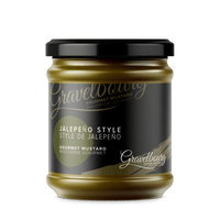 GRAVELBOURG MUSTARD JALEPENO, FOOD, Styles For Home Garden & Living, Styles For Home Garden & Living