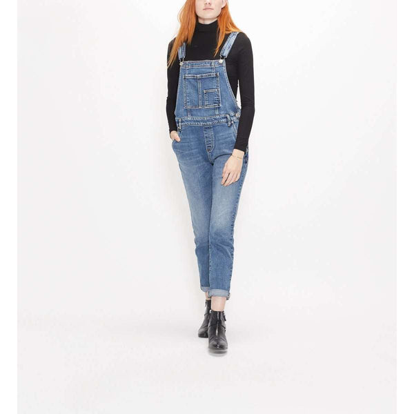 SILVER JEANS SKINNY OVERALLS - INDIGO, WOMENS, Styles For Home Garden & Living, Styles For Home Garden and Living