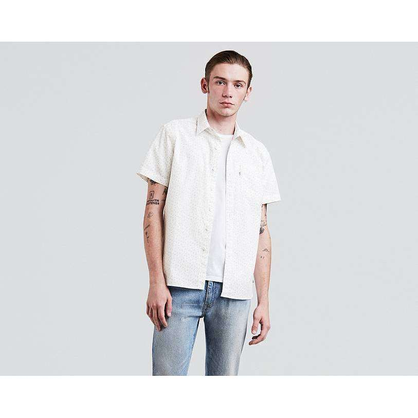 LEVIS SHORT SLEEVE SUNSET ONE POCKET SHIRT - COWBIRD MARSHMALLOW, MENS, Styles For Home Garden & Living, Styles For Home Garden & Living