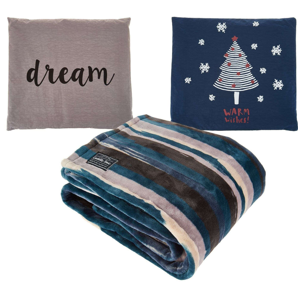 LUG CUDDLE SAC PEARL DREAM THROW + PILLOW SET, ACCESSORIES, Styles For Home Garden & Living, Styles For Home Garden & Living