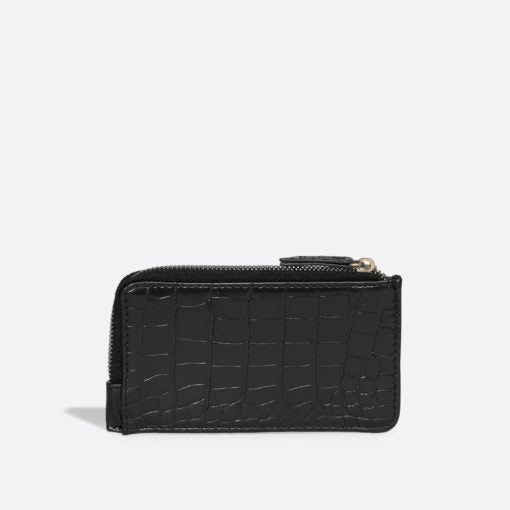 PIXIE MOOD QUINN CARD WALLET BLACK CROC, ACCESSORIES, Styles For Home Garden & Living, Styles For Home Garden & Living