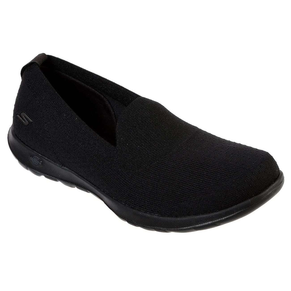 SKECHERS GO WALK LITE CHARMING SHOE IN BLACK, WOMS, Styles For Home Garden & Living, Styles For Home Garden & Living