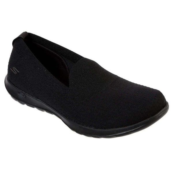SKECHERS GO WALK LITE CHARMING SHOE IN BLACK, WOMS, Styles For Home Garden & Living, Styles For Home Garden and Living