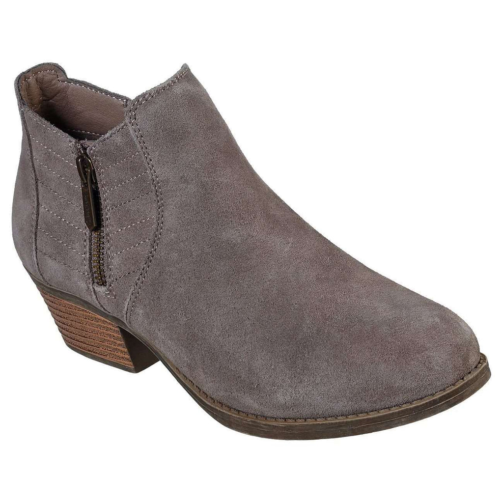 SKECHERS LASSO SUEDE ANKLE BOOT SHOE- PETROL, WOMS, Styles For Home Garden & Living, Styles For Home Garden & Living