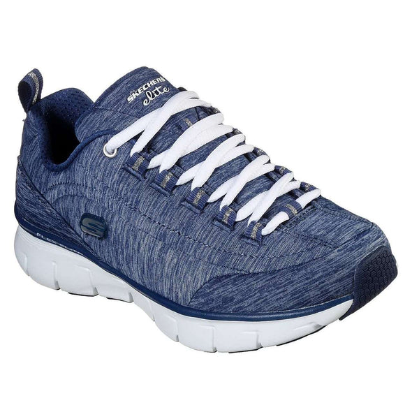 SKECHERS SYNERGY 3.0 SPELLBOUND SHOE IN NAVY, WOMS, Styles For Home Garden & Living, Styles For Home Garden and Living