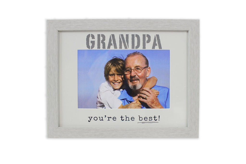 SPLASH 6X4 FRAME GRANDPA YOU'RE THE BEST