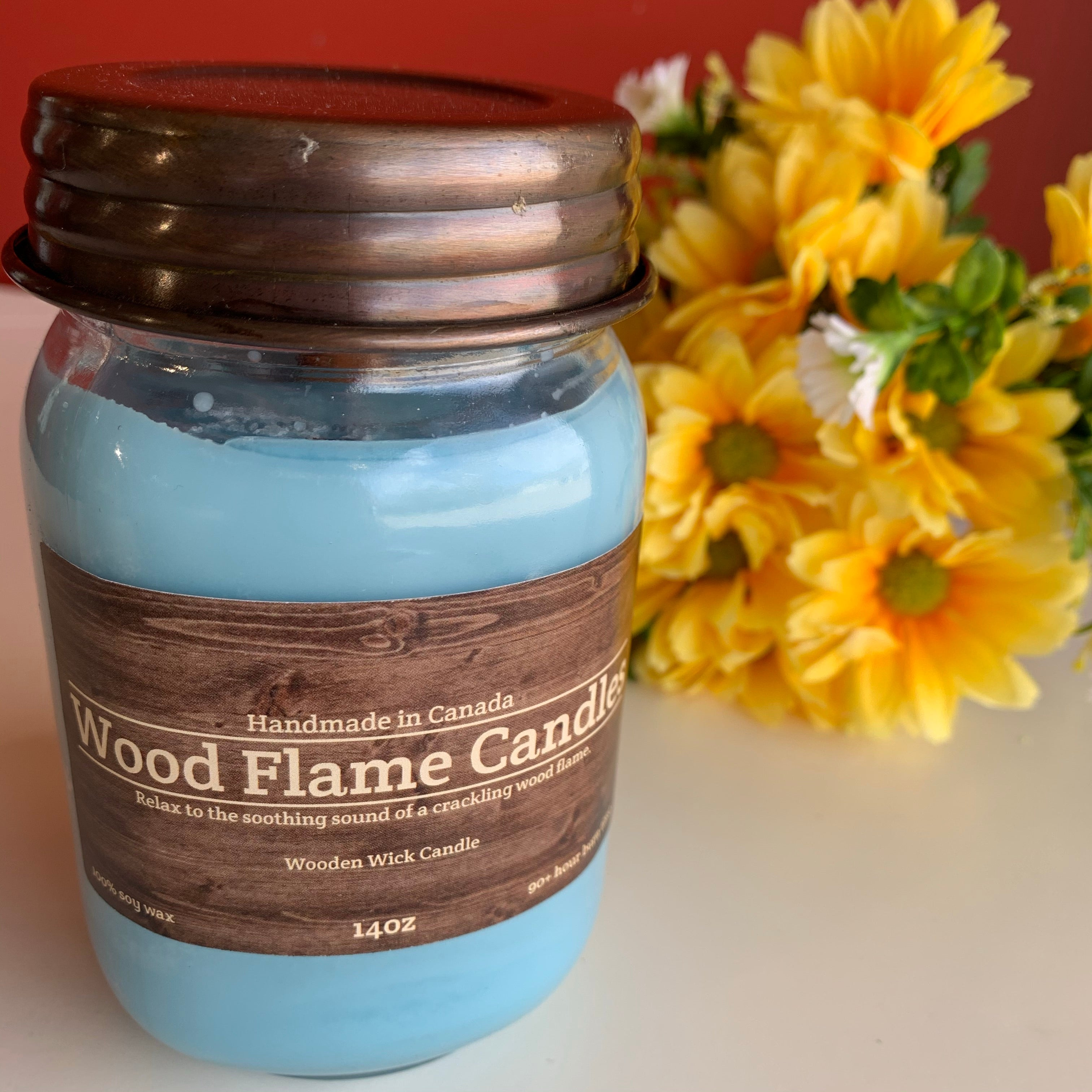 WOOD FLAME CANDLES STORM WATCH 14OZ