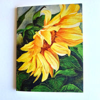 CHYLISSE MARCHAND CARD SUNFLOWER
