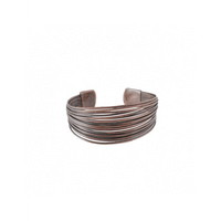 CARACOL COPPER  METAL MULTIWIRE ADJUSTABLE BRACELET, ACCESSORIES, Styles For Home Garden & Living, Styles For Home Garden and Living