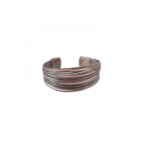 CARACOL COPPER  METAL MULTIWIRE ADJUSTABLE BRACELET, ACCESSORIES, Styles For Home Garden & Living, Styles For Home Garden & Living