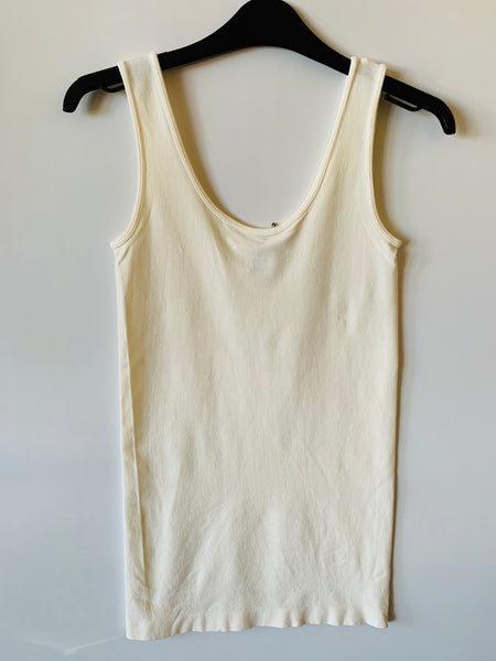 C'EST MOI BAMBOO TANK TOP IN IVORY
