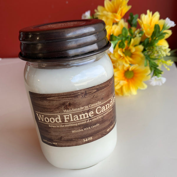 WOOD FLAME CANDLES DE-STRESS 14OZ