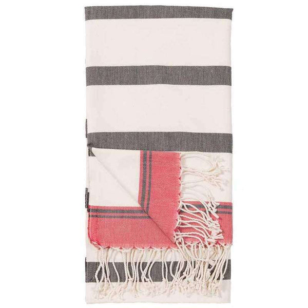TURKISH BODY TOWEL 'ZEBRA' POKOLOKO, BED AND BATH, Styles For Home Garden & Living, Styles For Home Garden and Living