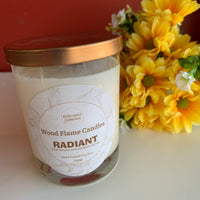 WOOD FLAME CANDLES RADIANT 12 OZ