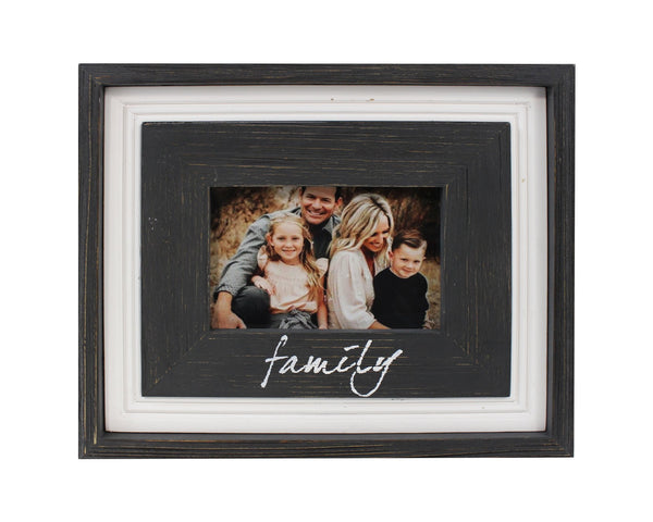 SPLASH 4X6 FRAME FAMILY B/W