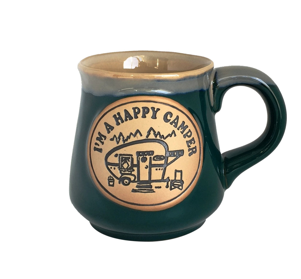 SPLASH MUG HAPPY CAMPER