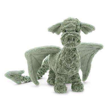 JELLYCAT DRAKE DRAGON GREEN, TOYS, Styles For Home Garden & Living, Styles For Home Garden & Living
