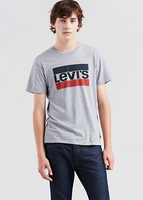 LEVIS MEN'S TEE GRAPHIC LOGO TEE GREY, MENS, Styles For Home Garden & Living, Styles For Home Garden & Living