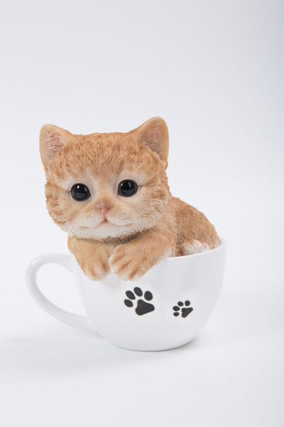 HI LINE PET PALS TEACUP ORANGE TABBY KITTEN