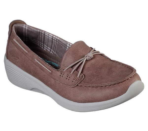 SKECHERS ARYA SAIL WITH ME SHOES - TAUPE, WOMS, Styles For Home Garden & Living, Styles For Home Garden & Living