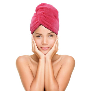 TWIST AND DRY QUICK DRY HAIR TOWEL