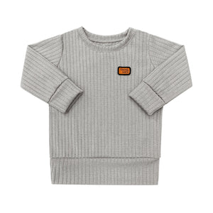 Pull - Gris perle