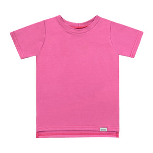T-shirt - Rose orchidée