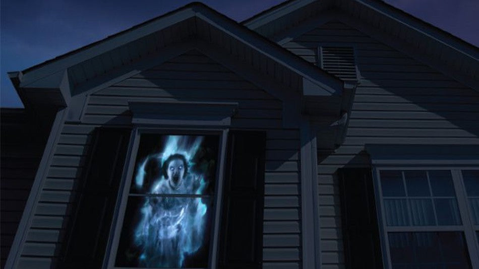 Digital decoration, Halloween ideas with amazing visual effects using a projector