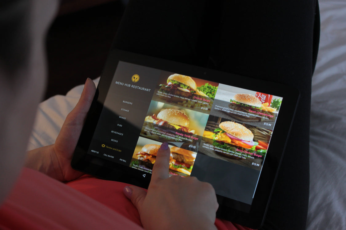 Hospitality Tablets - Designed for Hotels and Restaurants