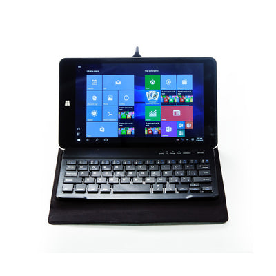 Bluetooth® Ultra-Slim Keyboard with Case for Tablets