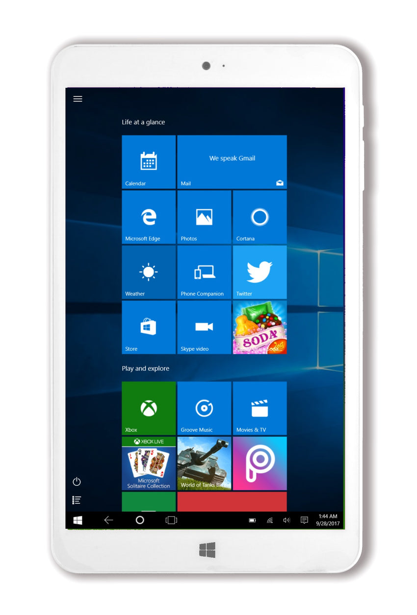 Spring 8 - Windows tablet