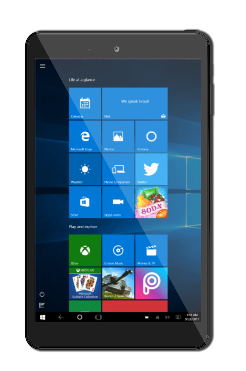 Stocks Sales - Pride 8 Windows tablet
