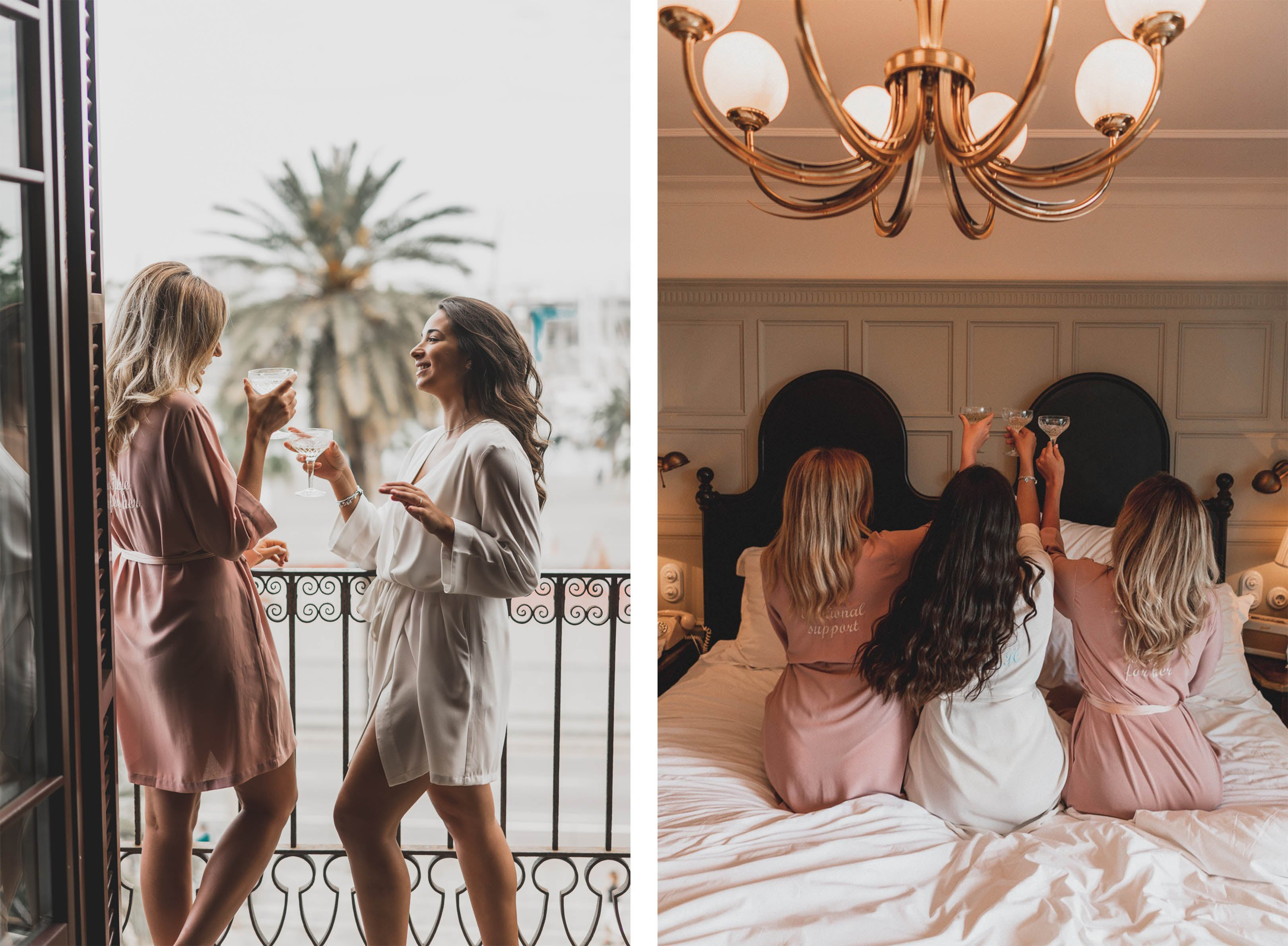 gigi and olive launch - bridal and bridesmaid robes